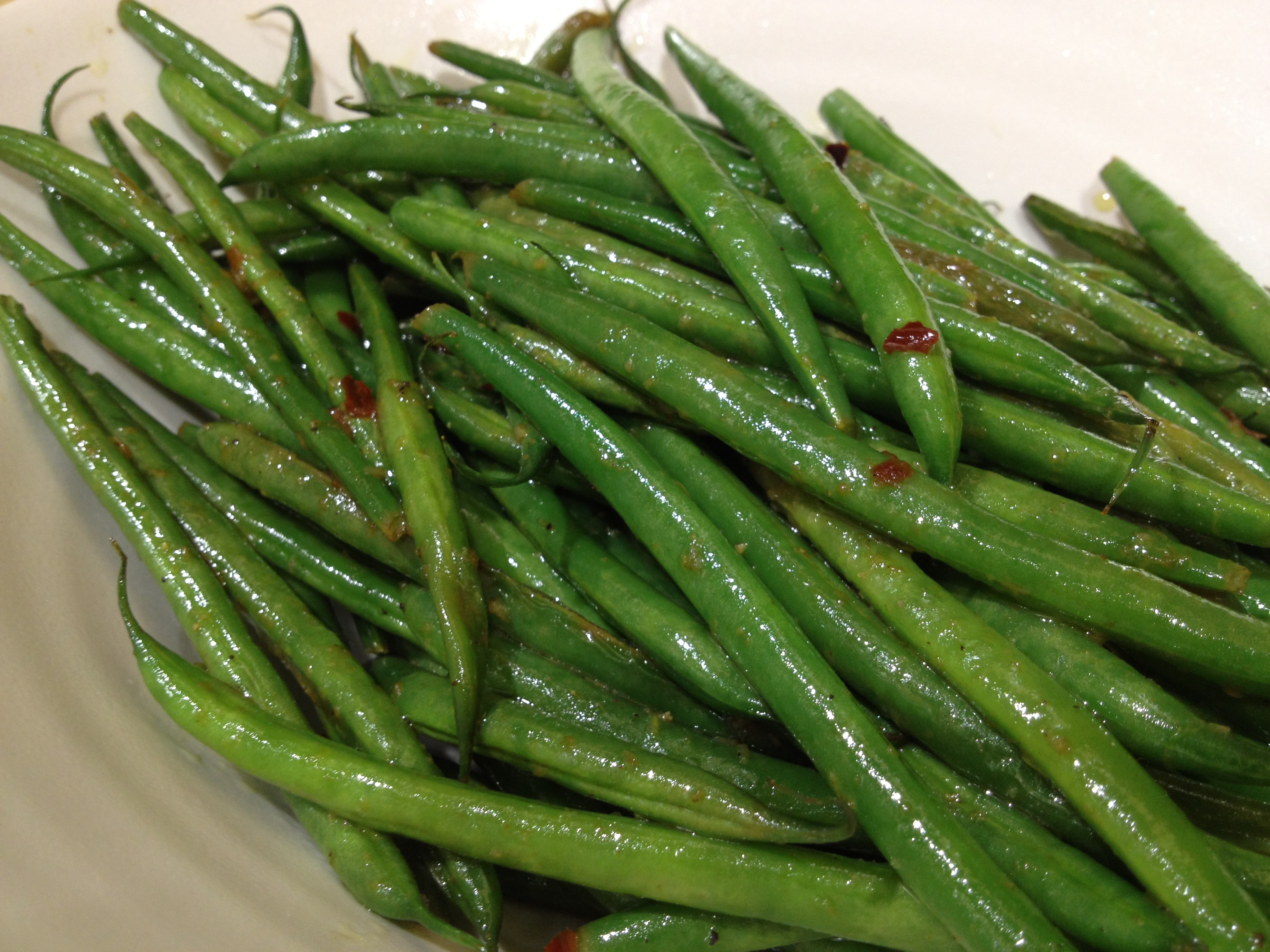 Lemony Green Beans (Green Beans With Lemon Juice And Lemon ...